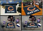 Chicago Bears Man Cave Rug  FANMATS