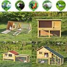 ikayaa Outdoor Wooden Chicken Coop Hen House Rabbit Hutch Pet Poultry Wood Cage