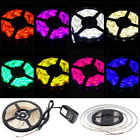 12v 5m Waterproof 300 Led Rgb Strip Light 3528 Smd Lamp Ribbon Tape Roll Kit Bl