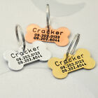 Personalized Dog Tag Custom Dog ID Tag Bone Tag, New Dog Gift, Custom Pet ID Tag