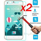 2Pcs 9H+ Anti-Scratch Tempered Glass Screen Protector Fim For HTC Smart Phone