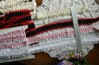 WEDDING GARTER SATIN - Edged LACE 4Colours 42mmWide 40-200cm Long MultiList Flt1