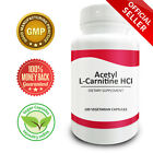 Pure Science Acetyl L-Carnitine HCI 525mg - Immunity, Detox & Brain Support