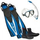 Aqualung Set Express Adj Blue 08FR