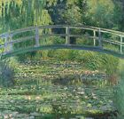 Handmade Oil Painting Art repro Claude oscar Monet the water lily pond on Canvas