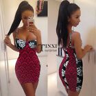 Women Lady Strap Backless Clubwear Bodycon Slim Short Mini Dress New TXSU