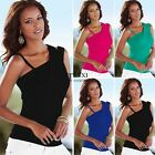 Sexy Women's Lady Summer Vest Top Sleeveless Blouse Casual Tank Tops T TXSU