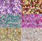 Wholesale Shiny Flowers Loose Sequins Paillettes Sewing Wedding Dress Craft 8mm