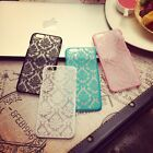 Damask Vintage Pattern Hard Back Matte Case Cover for iPhone 6 / 6s / 7