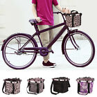 Pet Bicycle Basket Storage Puppy Ride Bike Canopy Dog Cat Carrier Safety