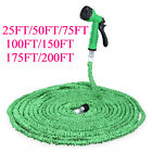150FT Magic Water Pipe Household Flexible Hose Car Wash Gun Spray Nozzle Joint