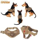 Hot Military Tactical Excursion K9 Training Molle Dog Vest Patrol Harness Handle