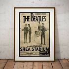 The Beatles 1965 First Shea Stadium Concert Poster Print Four Options Exclusive