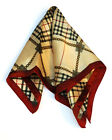 Fashion Ladies Square Satin Scarf