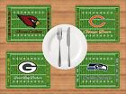 AMERICAN FOOTBALL TEAMS PLACEMAT PERSONALISED FREE OF CHARGE BIRTHDAY XMAS GIFT $9.93 USD on eBay