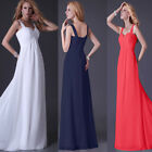 Homecoming 50s Long Maxi Formal Wedding Evening Dress Bridesmaid Party Prom Grow