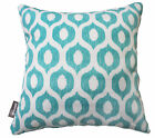 "OUTDOOR INDOOR THROW CUSHION COVER VROOM SKY BLUE CONTEMPORARY PILLOW 18"" SALE"