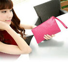 NEW Women Clutch Purse Bag Leather Satchel Fashion Handbag Pattern