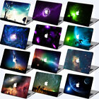 "Galaxy Space Prints Rubberized Hard Case Cover For Macbook Pro 13""15'Touch Bar"