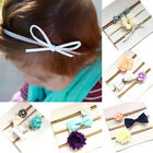 3Pcs Lovely Baby Girls Infant Toddler Flower Bow Headband  Hair Band Accessories