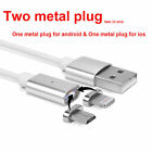 Lightning and Micro To USB Magnetic Magnet Charger Cable For iPhone 7 6S Android