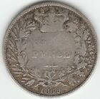 1869 Great Britain Six Pence Die #5 Silver Low Mintage Better Date