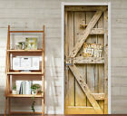 3D Wooden Gate 123 Door Wall Mural Photo Wall Sticker Decal Wall AJ WALLPAPER AU