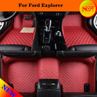For Ford Explorer 2007-2016(2 Rows Mats) Yes Car Floor Mats Y2R3 Protector Liner
