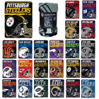 "NFL Pick Your Team 40-Yard Dash Micro Raschel Throw Blanket 40"" x 60"" on eBay"