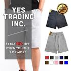 Внешний вид - HI MENS WOMENS CASUAL SWEAT SHORTS PLAIN GYM SHORTS FLEECE HOUSE GYM DAILY HAREM