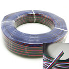 5pin 22AWG Extension Cable Wire Blue/Red/White/Green/Black for RGBW 5050 3528