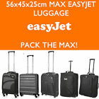 Easyjet 56x45x25 Max Grand Cabine Main Valise Bagage Chariot de Voyage Sacs