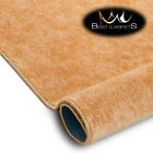 Best Carpets Hardwearing Soft SERENADE gold Stain Resistant Stairs Rugs