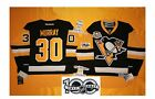 Murray home Pittsburgh Penguins Reebok Hockey Jersey 50th & NHL 100th patch 7185