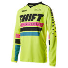 2017 Shift MX Mens Recon Jersey - Phoenix Flo Yellow Motocross Offroad Trail End
