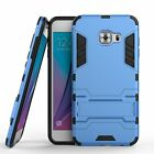Samsung Galaxy C5 Dual Layer Hybrid Rugged Case Shockproof Cover w/ Kickstand