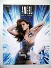 PUBLICITE-ADVERTISING :  Thierry MUGLER Angel  2014 Eau de Parfum - Eva Mendes