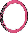 Pink Floral Lace Steering Wheel Cover, VIC97309-9