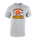 T-Shirt Gildan Camping Life is better by the campfire camp camper