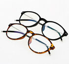 Vintage Round HD Resin Lens Reading Glasses Fashion Women Men New +1.00 ~ +4.00