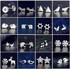 New Fashion Women 925 Sterling Silver Earrings Ear stud Cute Jewelry Gift