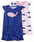 Carter's    Girls' 2-Pack Sleep Gowns     MSRP$34.00    Size 2--14