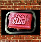 FIGHT CLUB TYLER COOL FILM CANVAS WALL ART BOX PRINT PICTURE SMALL/MEDIUM/LARGE
