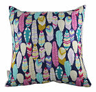PLUCKED MIDNITE/METALLIC CONTEMPORARY SCATTER CUSHION COVER THROW PILLOW