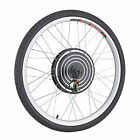 "26"" Front Rear 48V Electric Bicycle E-Bike Wheel Conversion Kit Cycling Motor"