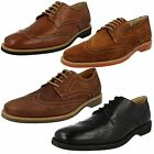 MENS SOFT LEATHER SHEEPSKIN LINING LACE UP SHOES (ANATOMIC GEL TUCANO