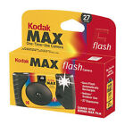 Kodak MAX Single Use 35mm Film Camera With Power Flash