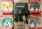Nintendo 64 N64 system Mario kart, Star fox, 007 Goldeneye, Super Smash Bros