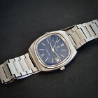 Omega Seamaster Vintage 1977 Cal 1012 Blue Dial Automatic Stainless Steel Watch