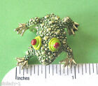 vintage  FROG - scatter pin - brooch GIFT BOXED
